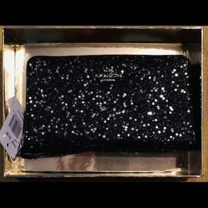 Genuine Sparkly Coach Wristlet